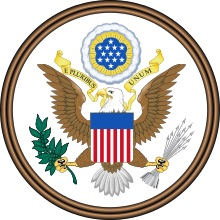 The great seal of the United States of America by Charles Thompson, 1782 (Wikipedia)